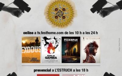 Cartell del festival InDOCumentari fet per Helena Torrent   Cedida