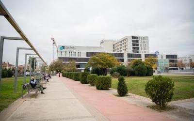 Façana de l'Hospital Parc Taulí  Roger Benet
