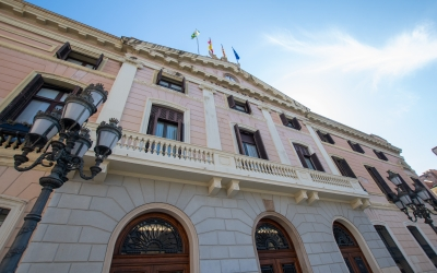 La façana de l'Ajuntament es rehabilitarà amb 250.000 euros | Roger Benet