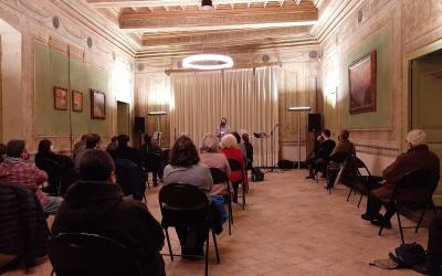 Una imatge de l'acte a la Cada Duran | Ajuntament de Sabadell
