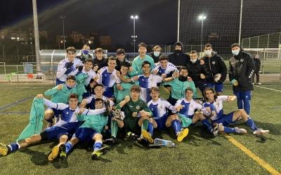 El juvenil del Centre d'Esports Sabadell celebra la bona dinàmica a casa | @futbaseces