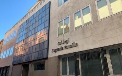 Façana de l'escola Sagrada Família al carrer Sant Josep, al Centre   Roger Benet
