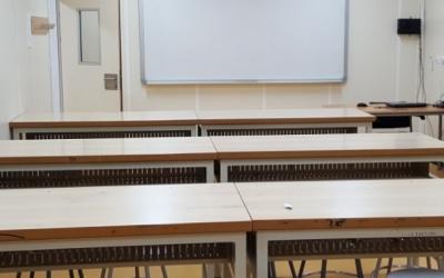 Imatge d'una aula buida | Cedida