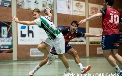 Picola va sumar cinc gols contra el Granollers 'B' | Èric Altimis - OAR Gràcia