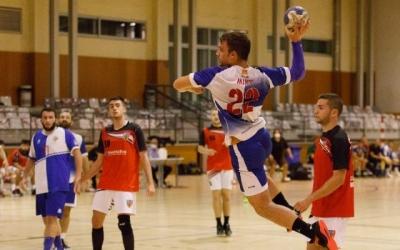 Un jugador del Creu Alta en un acció d'un partit | Creu Alta Sabadell
