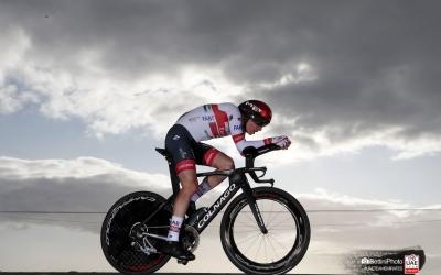 De la Cruz va ser el millor ciclista espanyol a la contrarellotge de La Vuelta (novè) | Team Emirates