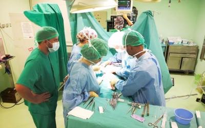 Una sala d'operacions del Taulí/ Cedida