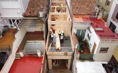 Un casa de l'empresa Blauhaus al carrer Avellaneda | Cedida