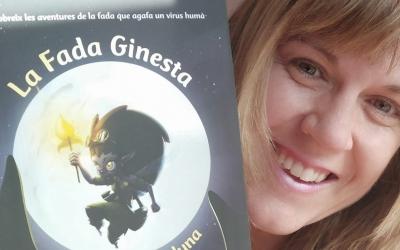 El llibre de La Fada Ginesta i la seva autora, Anna Muro | Cedida