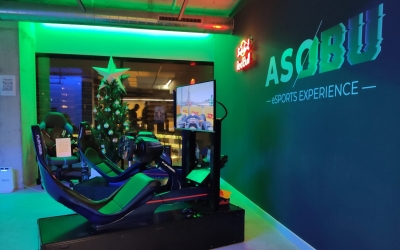Imatge del centre 'gamer' de Can Llong | Asobu