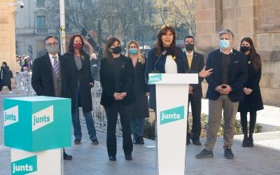 Els caps de llista de Junts per Catalunya es presenten a Sabadell | Roger Benet