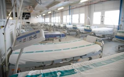 Els llits habilitats al Frontal Gran Via durant la pandèmia   Roger Benet