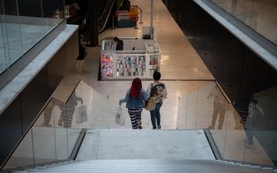 Imatge de l'interior del centre comercial Paddock | Roger Benet