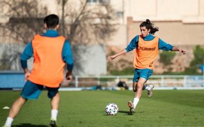 Chadi Riad, Marc Vargas, Albert Luque i Alberto Salamanca s'han reincorporat a l'equip | FutBase CES