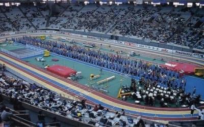 El tartà que s'instal·larà al Sant Jordi es va estrenar fa 25 anys | Cedida