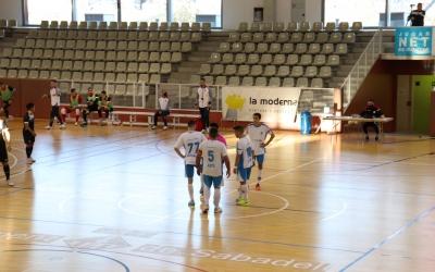 El CNS vol acabar l'any de líder, després de la derrota contra el Barceloneta | Carles Bellart
