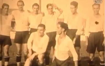 Andrés Jaso, tercer de la filera de dalt començant per l'esquerra | AHS
