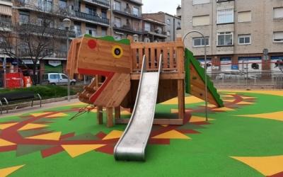 L'Ajuntament finalitza la renovació de 150 parcs infantils | Cedida