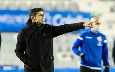 Hidalgo no va tenir problemes per reconèixer el mal joc del seu equip ahir | CES