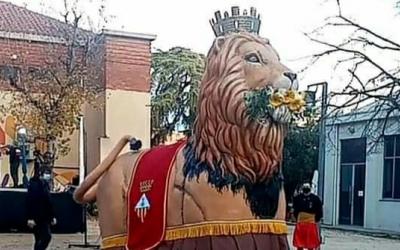 El Lleó de Sabadell no participarà en actes de foc | Cedida