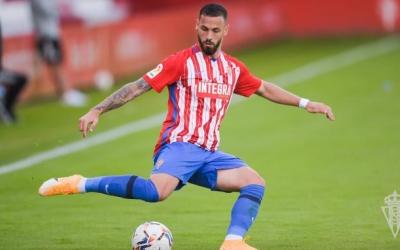 Álvaro Vázquez va veure porteria aquesta temporada contra la Ponferradina | Sporting