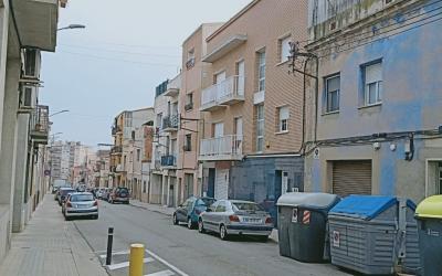 El carrer Cerdanya de Ca n'Oriac és un dels afectats pels talls de llum | Cedida