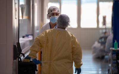 Planta COVID de l'Hospital de Sabadell | Roger Benet