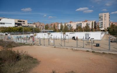 L'actual escola Virolet funciona en barracons   Roger Benet