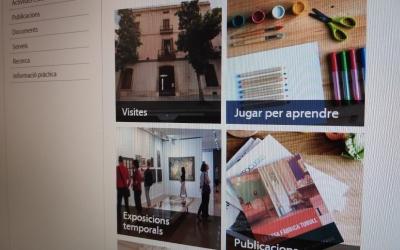 'El museu des de casa' posa diferents tipus de recursos digitals a disposició del públic | Pau Duran