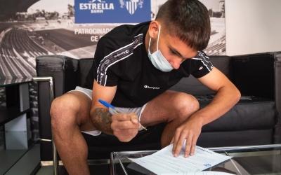 El 'Chino' Astals va signar, el passat setembre, la renovació amb el Sabadell | CES