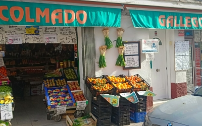 El Colmado Gallego, al carrer Gironès | Cedida