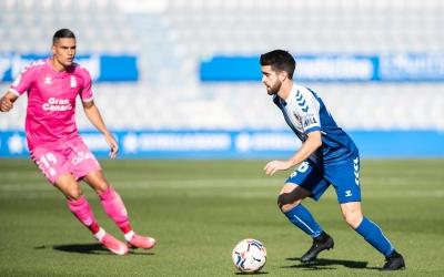 Boniquet, en el partit a casa contra Las Palmas | Marc González - CES