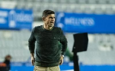 Hidalgo, en el partit de la primera volta | Marc González - CES