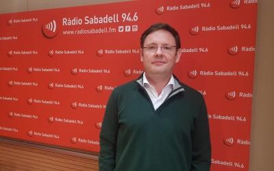 Albert Beorlegui, a Ràdio Sabadell | Arxiu