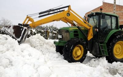 El temporal Filomena ha deixat importants nevades al país/ ACN
