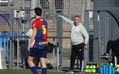 Beltran va dirigir el seu últim partit a casa davant el Girona 'B' | Sergi Park