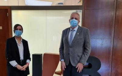 L'alcaldessa de Sabadell amb el rector de la UAB/ Ajuntament
