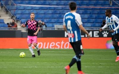 Ángel, dissabte passat davant l'Espanyol | Roger Benet
