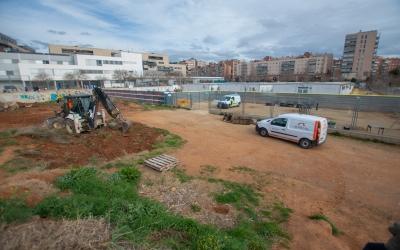 L'Escola Virolet s'acabarà de construir el novembre del 2022 | Roger Benet