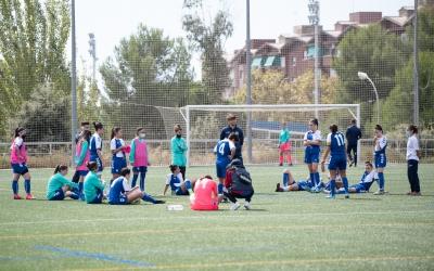 En l'únic partit jugat abans de l'aturada, el Sabadell femení va perdre 0-4 contra el Vilafranca | Roger Benet