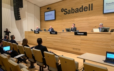 Banc Sabadell presenta els resultats del 2020   Cedida