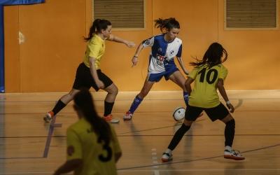 Les arlequinades van reprendre la lliga golejant el Vallirana | FCF