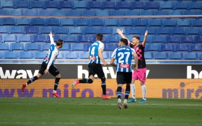 RDT, celebrant l'únic gol del partit | Roger Benet