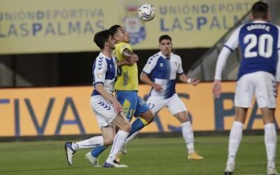 Jaime Sánchez, en una acció de l'últim partit amb Araujo | UDLP
