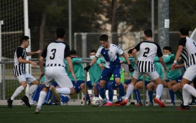 El juvenil del Sabadell va poder empatar en el tram final de partit | @FutBaseCES