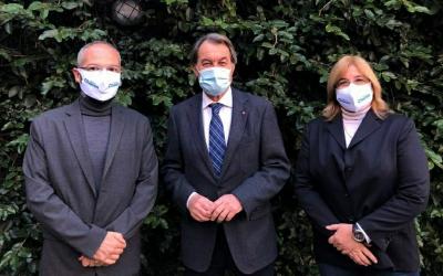 Carles Rossinyol, Artur Mas i Anna Solé