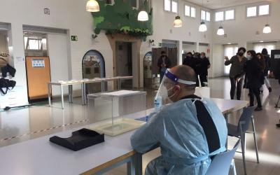 L'interior del Mercat de Sant Joan | Ràdio Sabadell