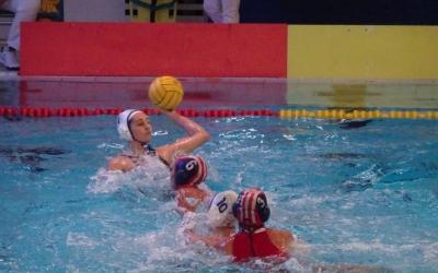 Judith Forca ha marcat cinc gols en l'anada dels quarts de l'Eurolliga | Sergi Park