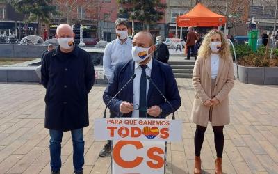 Cañas i Garcia, a l'acte de la plaça del Pi
