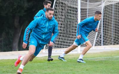 Álvaro Vázquez, en un entrenament aquesta setmana | CES